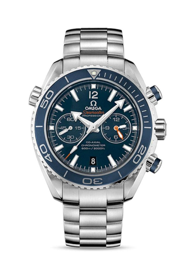 Omega Seamaster Planet Ocean Ceragold Watch (2)