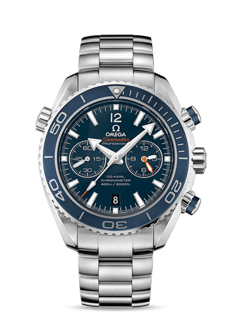 wordlessTech | Omega Seamaster Planet Ocean Ceragold Watch