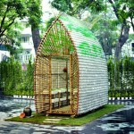 Recycled Materials Nursery Home in Vietnam