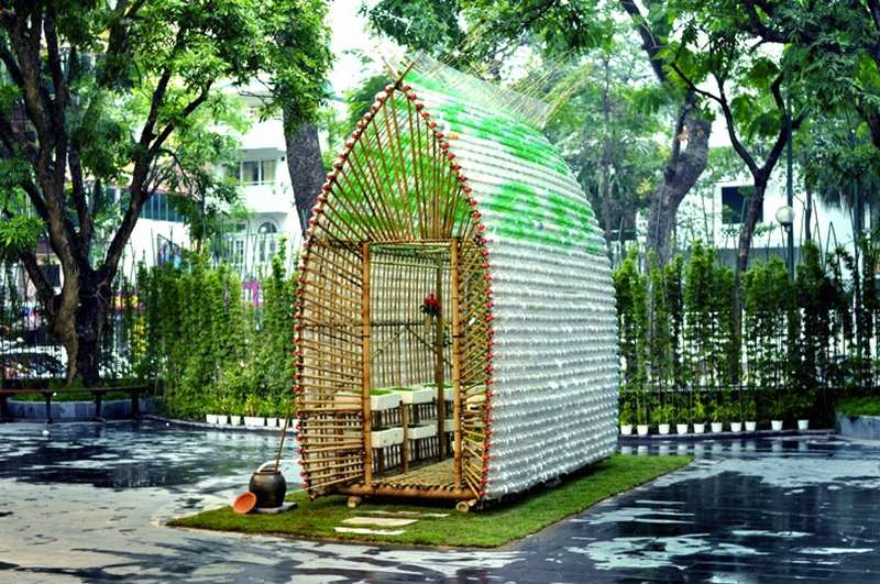Recycled Materials Nursery Home in Vietnam (4)