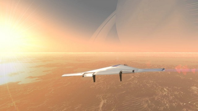 Solar-Powered Drone could survey Alien planets for months