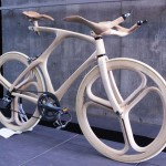 Stunning Sculpted Wooden Bicycle