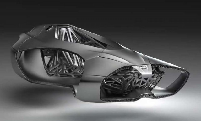 The Future of Automaking is 3D Printed 1