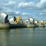 The Thames Barrier is keeping London safe and dry