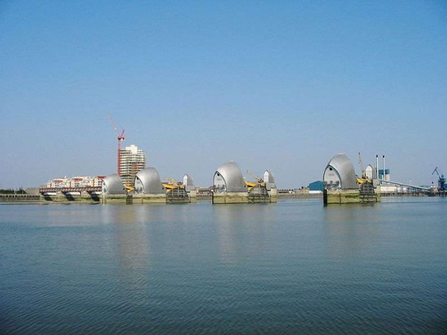 The Thames Barrier is keeping London safe and dry 2