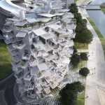 Tree-Inspired Housing Tower for Montpellier