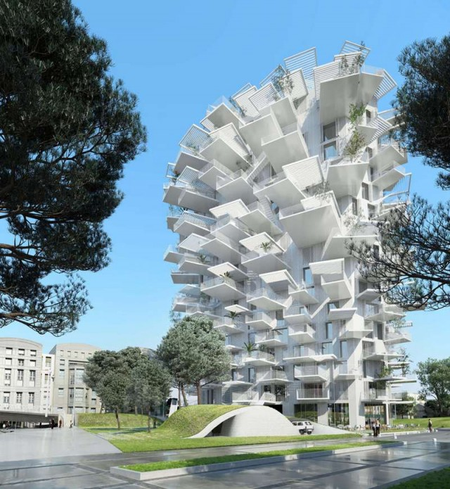 Tree-Inspired Housing Tower for Montpellier (6)