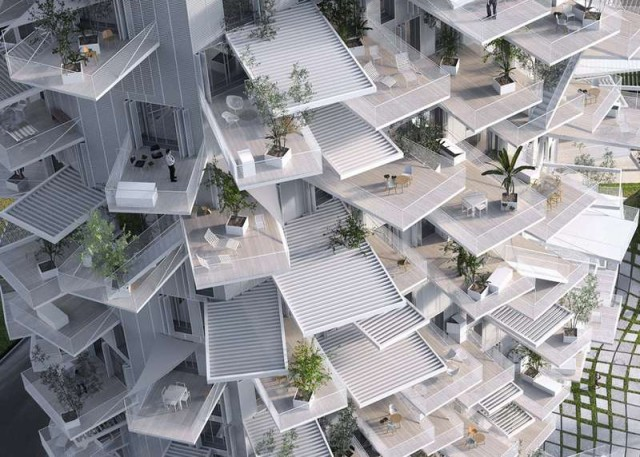 Tree-Inspired Housing Tower for Montpellier (4)