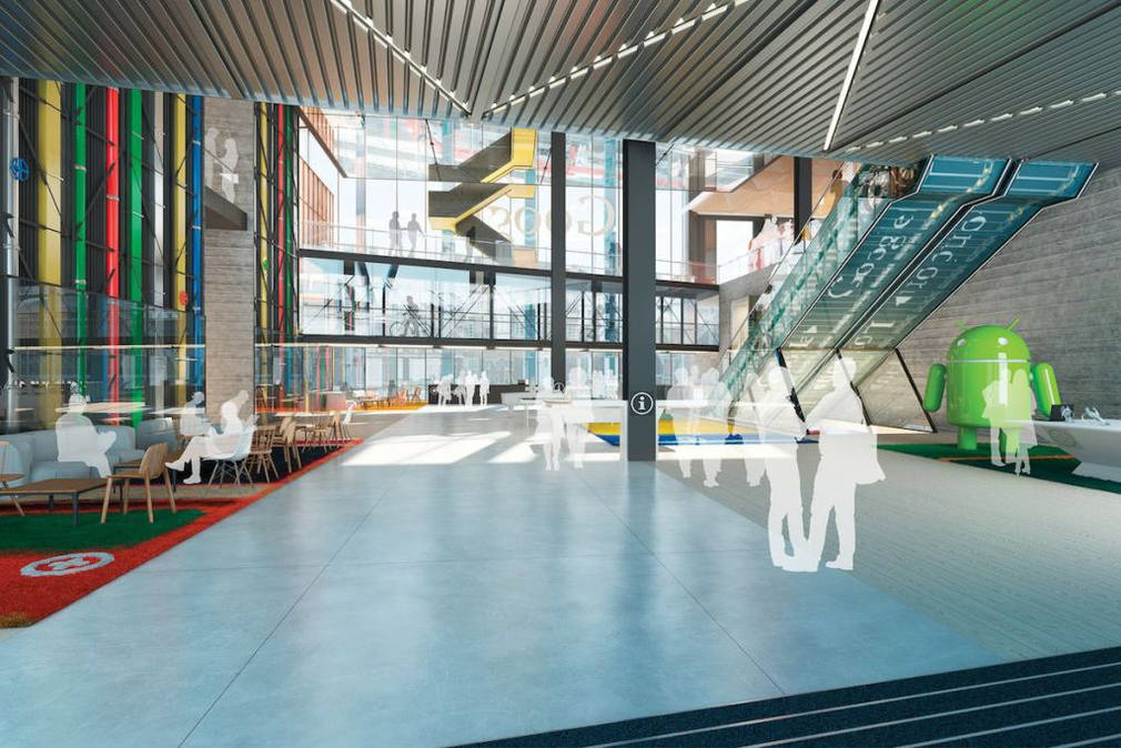 Google new offices - London