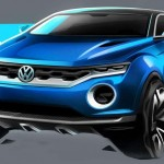 World premiere of VW T-Roc concept in Geneva