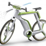 Air-Purifier Bike concept