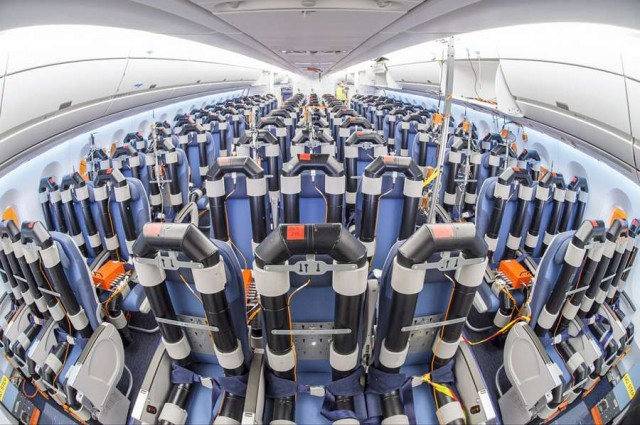 Airbus A350 cabin