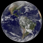 Americas on Earth Day from space