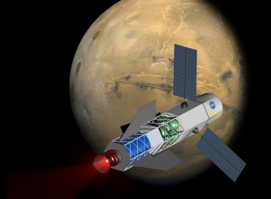 travel to Mars in a month