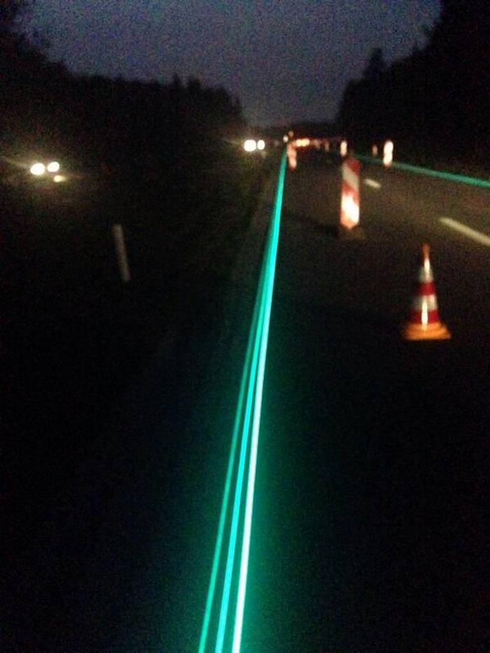 Glow-in-the-Dark Road