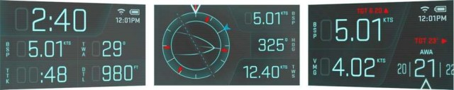 Heads Up Display for Sailing