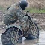 Insane Russian motorcycle can do everything