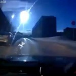 Meteor over Russia's Murmansk