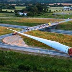 Moving the World's Largest Wind Turbine Blade