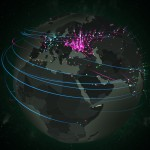Real Time Cyberattacks interactive map