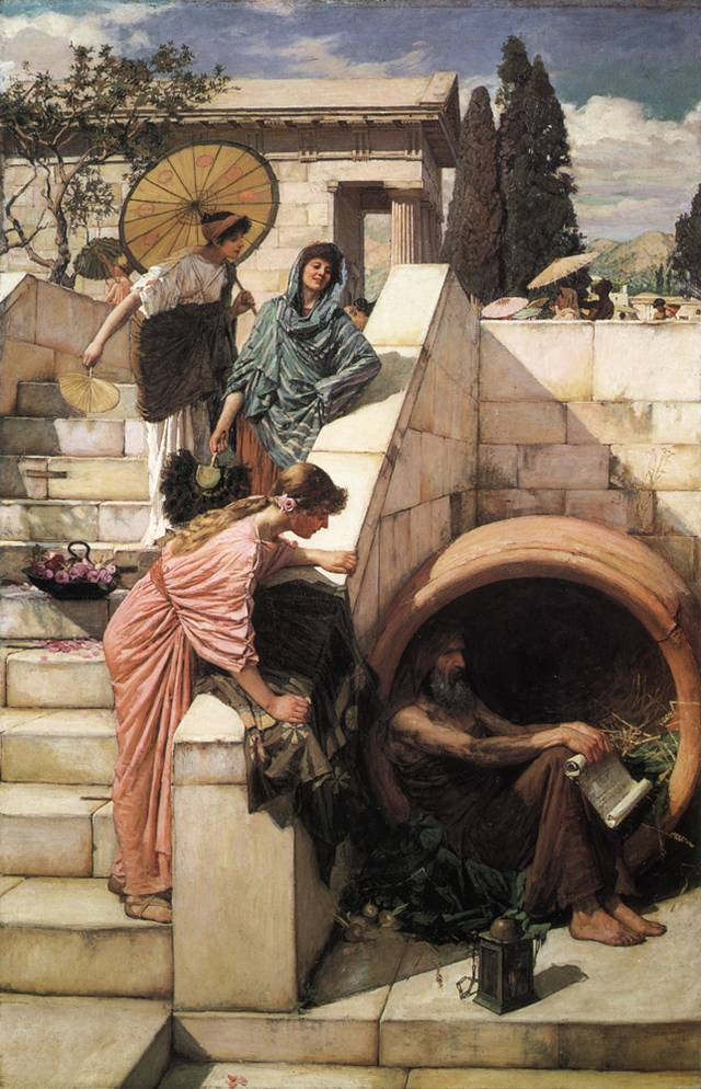 Diogenes in Athens