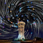 Spectacular Star Trails in the Night Sky