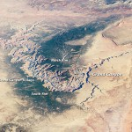 The Grand Canyon from Space Station