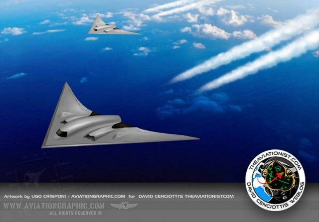 the new US Air Force bomber