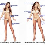 "The ""perfect body"" according to male and fema..."