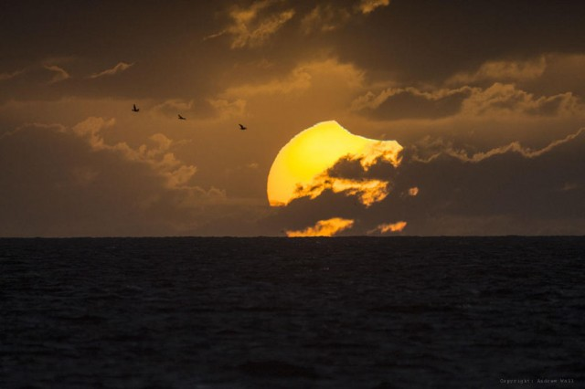 Partially Eclipse of the Sun