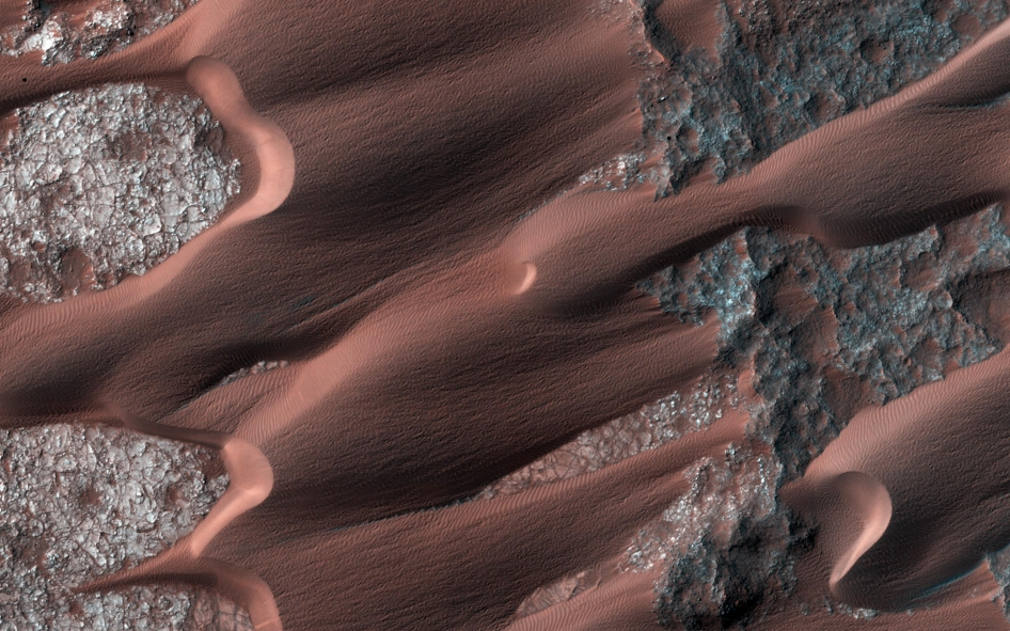 Active Dunes of Nili Patera