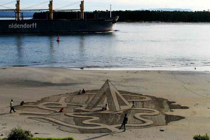 Beachside 3D Optical Illusions (8)
