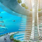 Amazing Floating City concept by AT Design Office