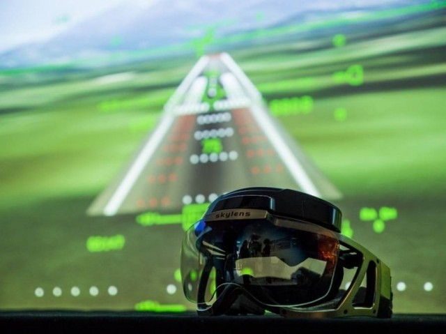 Augmented reality for Pilots