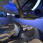 Boeing Future Commercial Spacecraft Interior