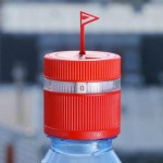 Bottle cap reminds you to stay hydrated