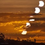 Brisbane Solar Eclipse