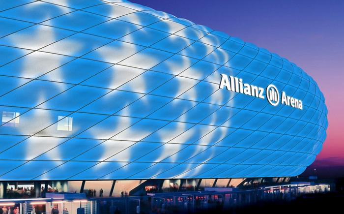 Allianz Arena Bayern Munich new display