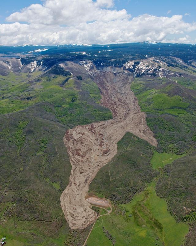 Gigantic Colorado Mudslide
