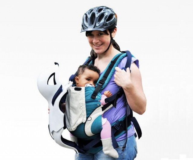 Baby protector when cycling (3)