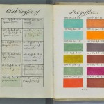 Impressive 322 years old colors guide book