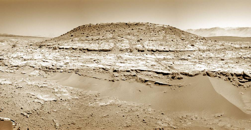 Curiosity rover eyes up site on Mars that may provide