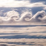 Kelvin Helmholtz clouds over Adirondack Mountains