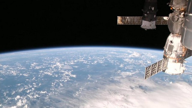 Space Station's view of Earth