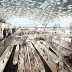 London Thames Hub Airport details by Foster + partners