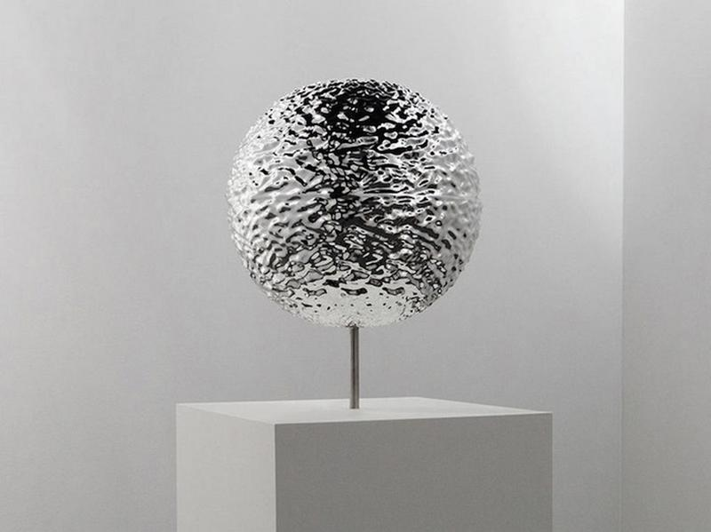 3-D Liquid Metallic Sculpture