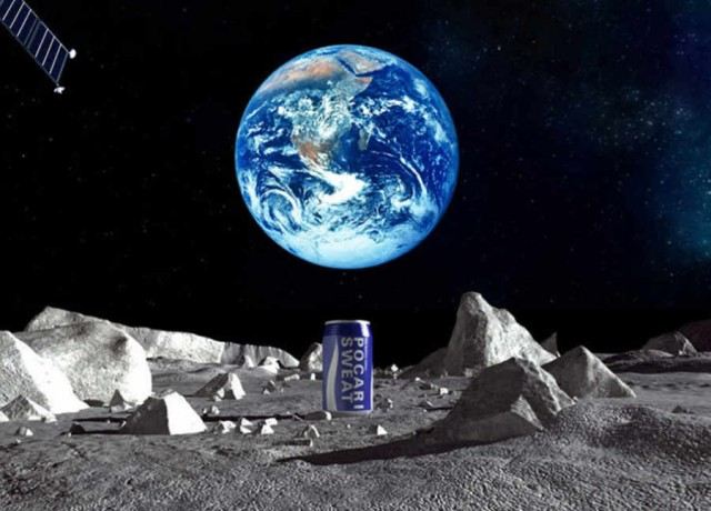 Advertisment On The Moon