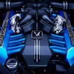 The blue beauty of Rolls-Royce Waterspeed Collection