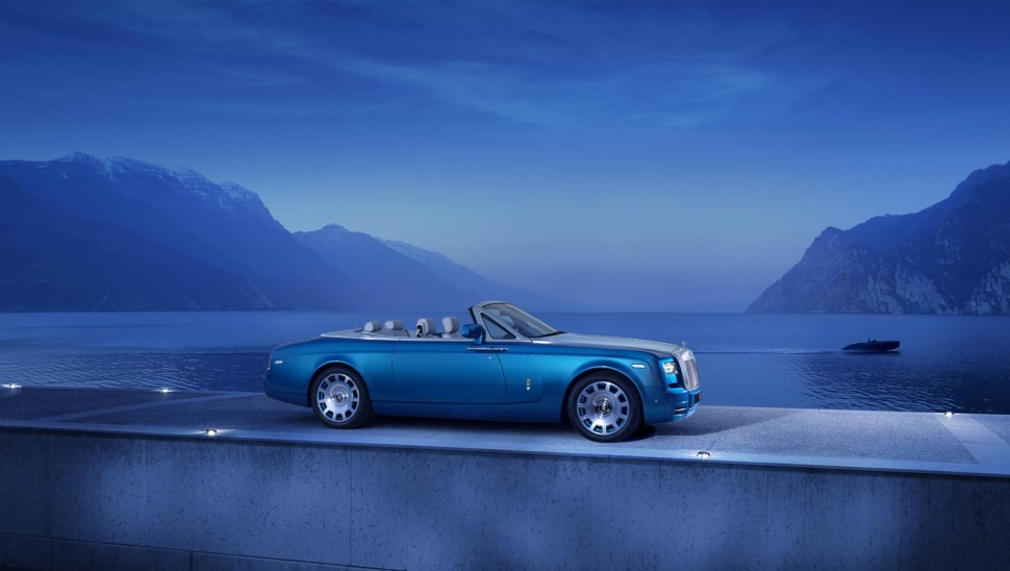 Rolls-Royce debuts Phantom Drophead Coupe Waterspeed Collection (1)