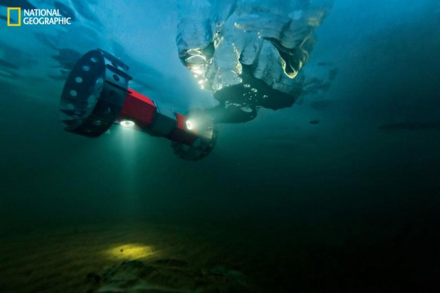 Buoyant Rover for Under-Ice Exploration